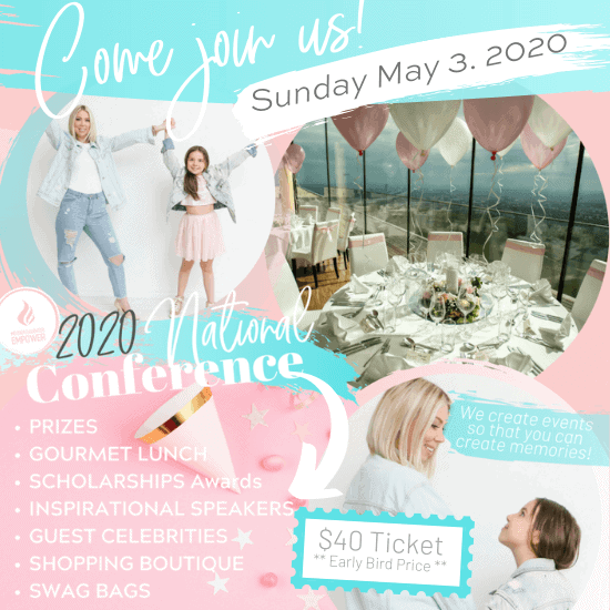 2020 National Mother Daughter Empower Conference Ticket